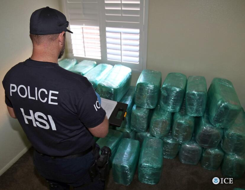 Narcotúnel entre México y Estados Unidos