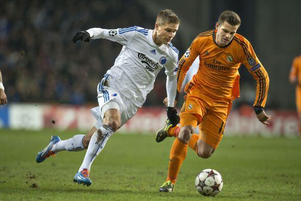 Por su parte, el Real Madrid visitó Dinamarca para enfrentar al Copenhague.