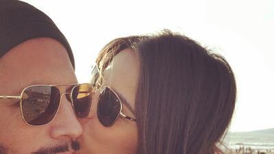 Maite Perroni compartió un momento muy íntimo con su novio Koko Stambuk