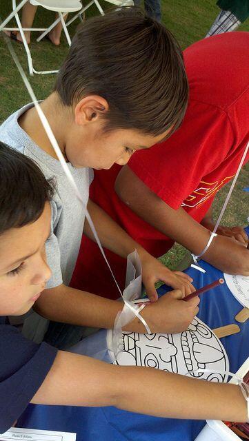 actividades para los niños, y hasta una feria de salud.