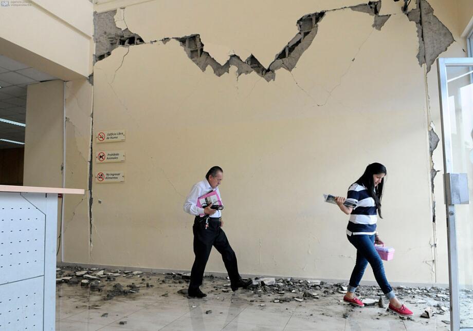 Las imágenes que nos deja el potente terremoto en Ecuador  ecuador16.jpg