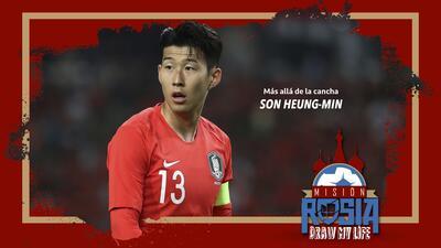 Más allá de la cancha: Son Heung-Min