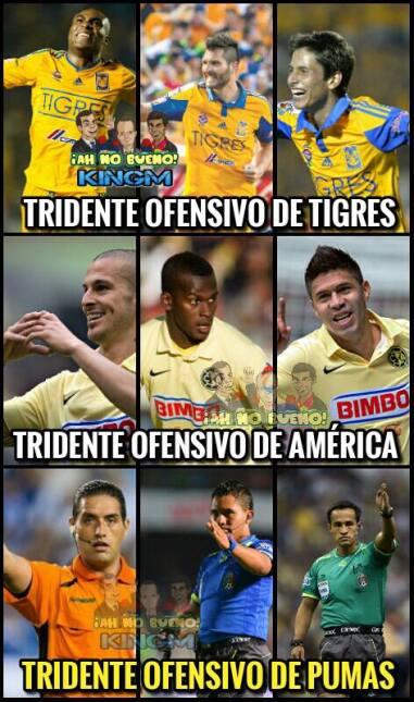 Tigres goleó y humilló a Pumas en la final de ida del Apertura 2015 y la...