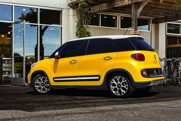 3. Fiat 500L.- El 500L y el Kia Soul tienen los lugares 3 y 2 respectiva...