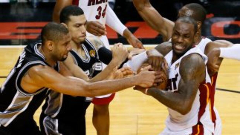 Heat v Spurs 06 18 2013