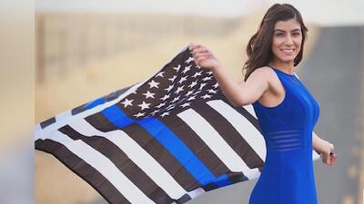 Este viernes se realiza el funeral de la oficial caída Natalie Corona