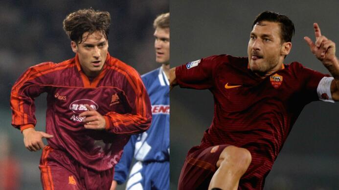 Francesco Totti y el adiós tras 24 años de carrera con Roma e Italia Tot...