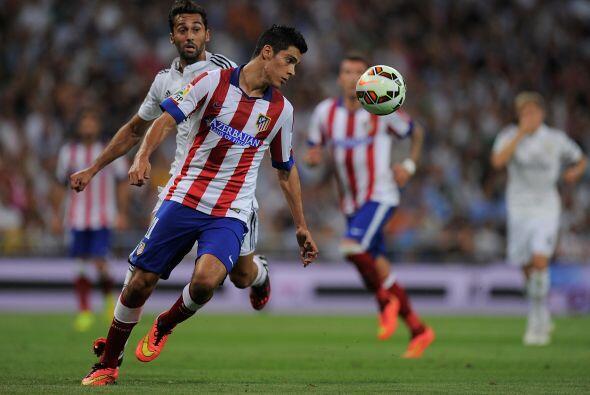 En sus inicios Diego Simeone le dio minutos a Jiménez en el once ideal d...