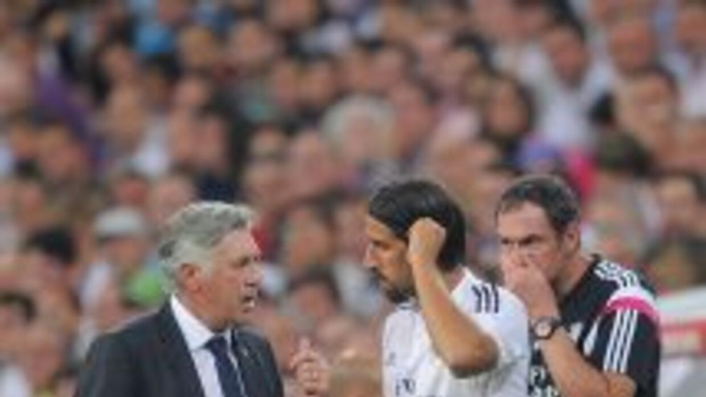 Sami Khedira ya está listo para ponerse a las órdenes de Ancelotti.