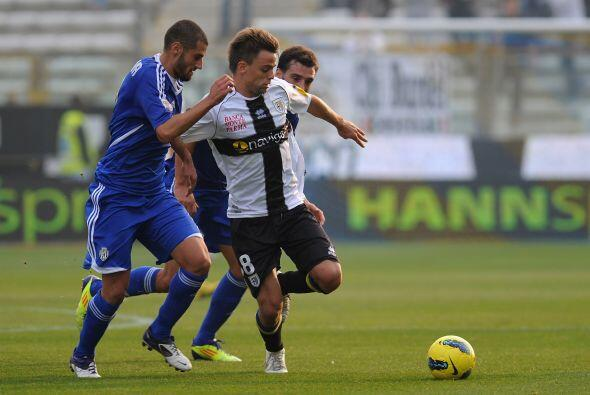 Parma quería retomar la senda ganadora ante el Cesena.