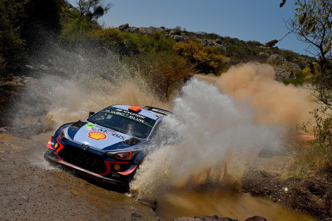 El Rally México, imágenes de la primera jornada de la tercera fecha del...