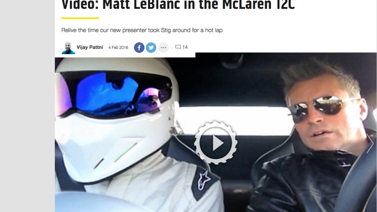 The Stig y Matt LeBlanc
