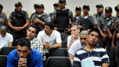 Los delincuentes capturados durante una narcofiesta en 2011 fuerondecla...