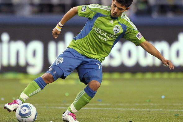 Otro colombiano que dejó su sello en la liga fue el atacante Fredy Monte...