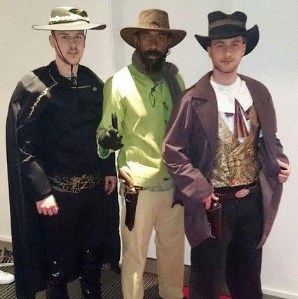 Los jugadores del Bayern Múnich se pusieron a la moda del Viejo Oeste co...