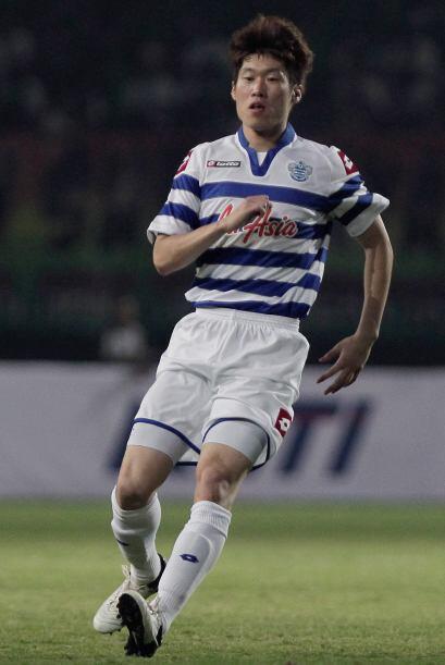 El surcoreano Ji-Sung Park acabó su aventura con el Manchester United de...