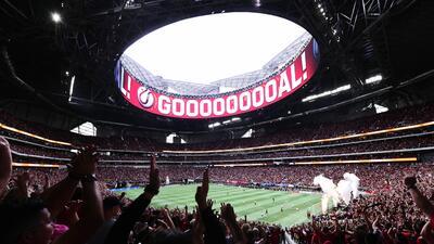 El Mercedes-Benz Stadium, sede de los récords de Atlanta United.