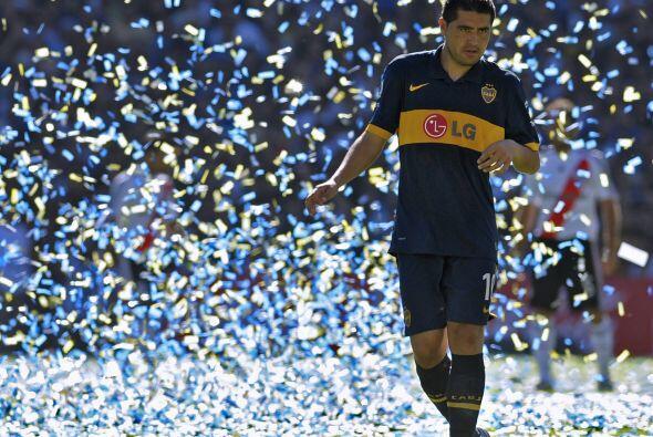 Juan Román Riquelme, símbolo de un Boca que aun ganando es...