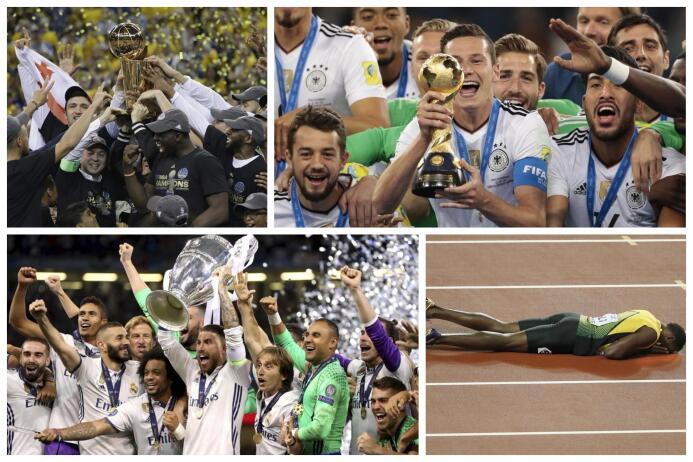 Los grandes momentos deportivos del 2017