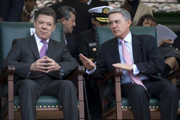 Ahora ya como presidente Juan Manuel Santos tiene la responsabilidad de...