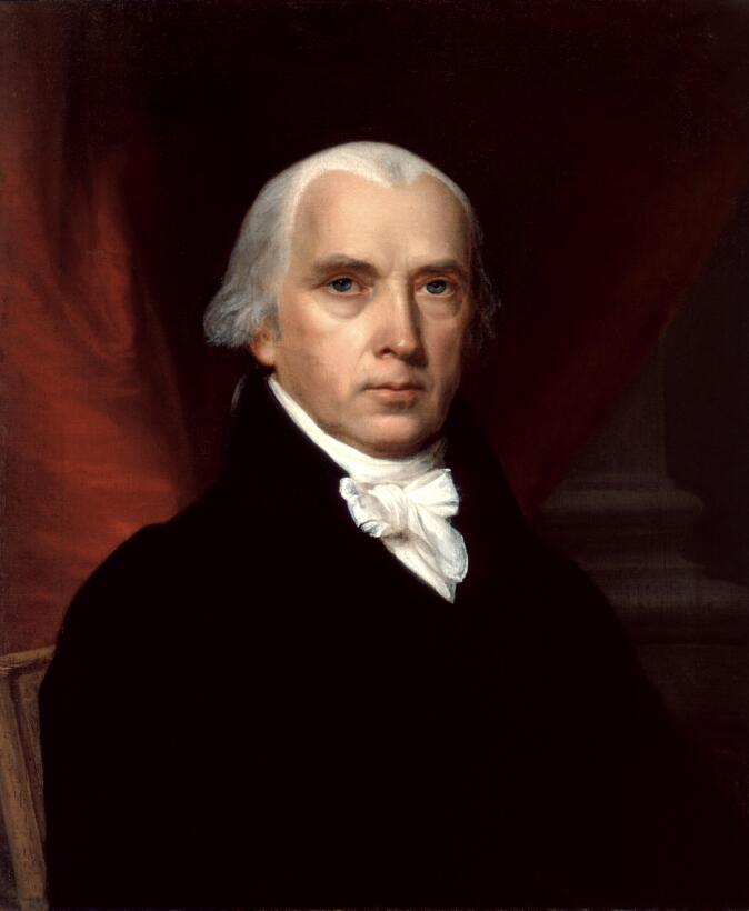 James Madison ha sido el presidente más bajito, con sólo 162.56 cm,  fue...