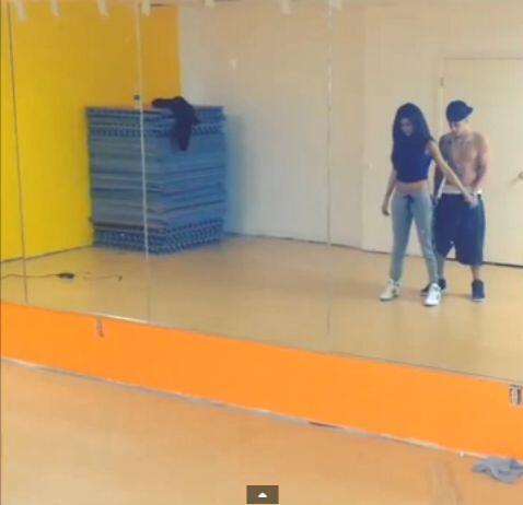 Hace unos días Justin Bieber subió un video en Instagram en el cual apar...