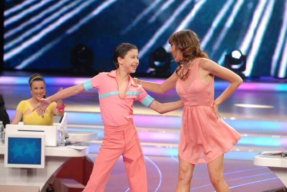 La experta en baile, Raquel Ortega, reconoce que el talento de Max es en...
