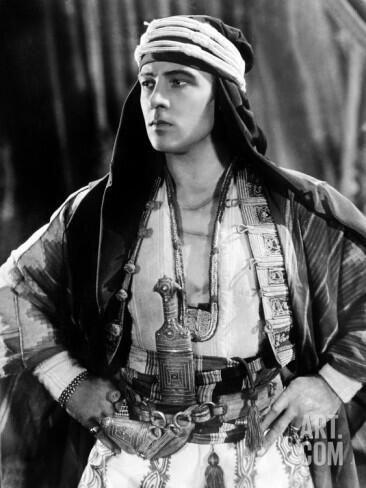 Iniciamos nuestra lista con Rudolph Valentino, el sueño cinematográfico...