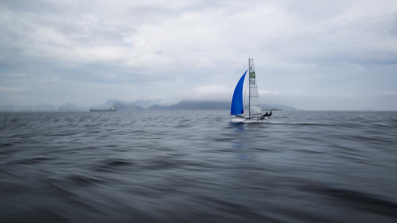 La contaminación de las aguas en Río, una pesadilla para los atletas SOP...