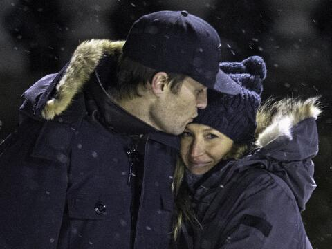 Gisele Bundcen & Tom Brady