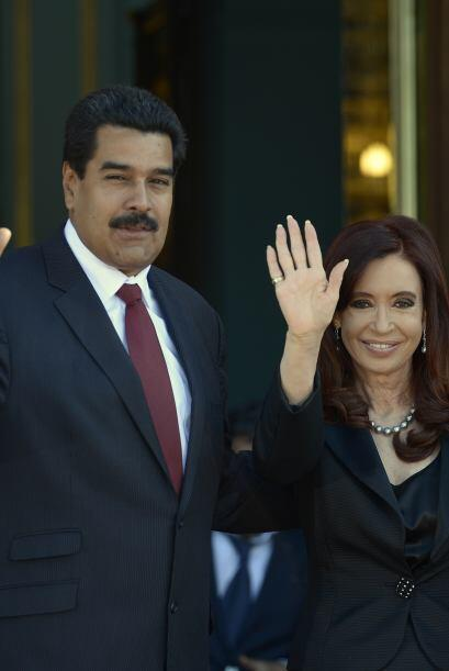 En mayo, la presidenta Cristina Kirchner y su par venezolano rubicaron e...