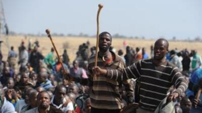 El presidente de Sudáfrica declaró una semana de luto oficial por la mue...