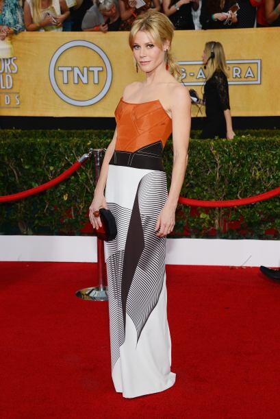 Julie Bowen vistió de Carolina Herrera; pero la verdad es que el estampa...