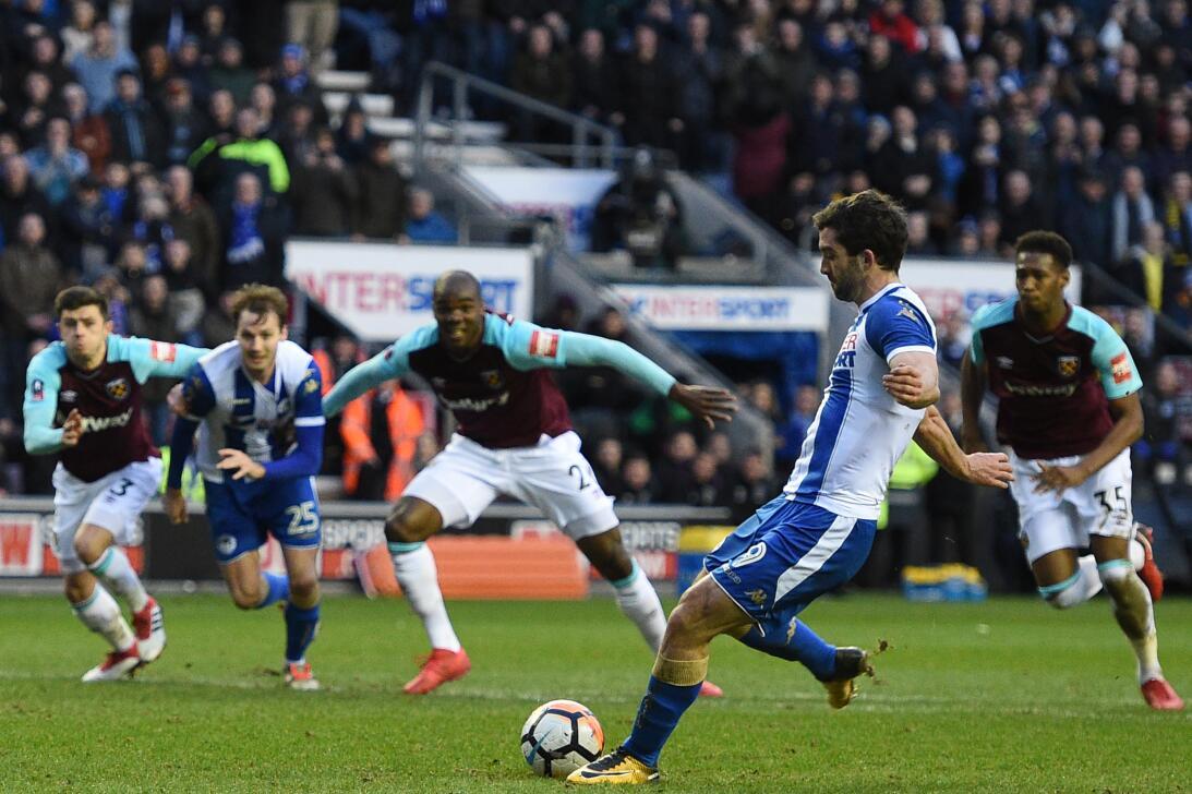 En fotos: West Ham fue eliminado por Wigan con 'Chicharito' como titular...