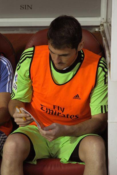 Para sorpresa de propios y extraños, Iker Casillas volvió a aparecer en...