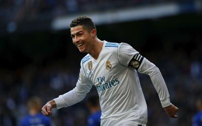 El astro luso lleva 22 goles en la actual temporada de La Liga.