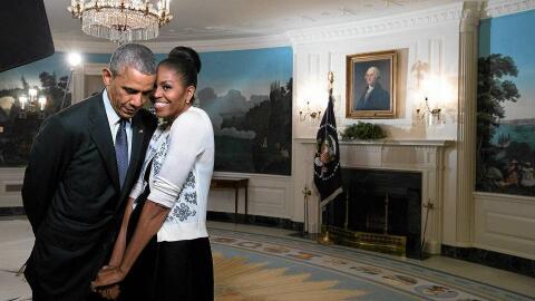 Durante sus años en la Casa Blanca, Michelle y Barack Obama proyectaron...