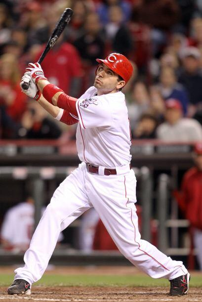 10.Joey Votto, primera base, Rojos de Cincinnati, 2,832,857 votos.