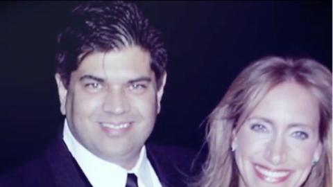 Lili Estefan y Lorenzo Luaces