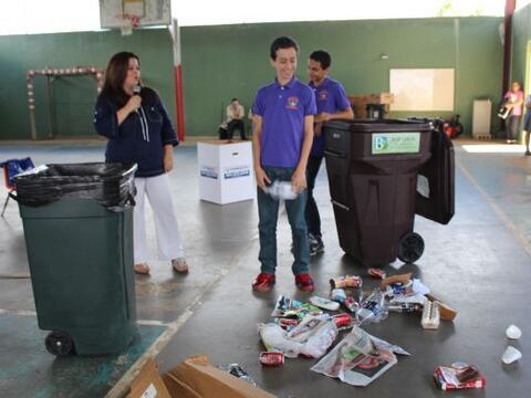 Las escuelas que participaron fueron la Antonio Rivera, José M. T...