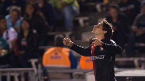 Luis Caballero anotó el único tanto del partido.