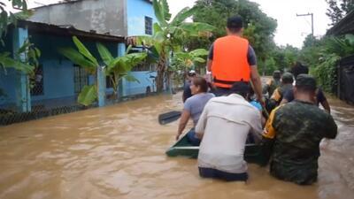 La tormenta Vicente deja ríos desbordados, deslizamientos y al menos once muertos en México