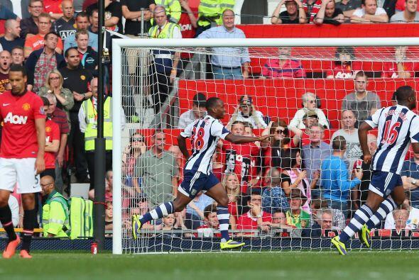 Y al final se lelvó premio el West Bromwich con un gol de Saido Berahino.