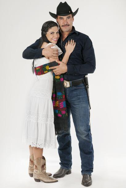 """Los protagonistas de la telenovela """"Amores Con Trampa"""", Eduardo Yáñez y..."""