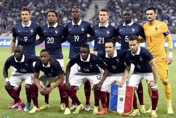 Francia es favorita del Grupo E y jugará ante Suiza, Ecuador y Honduras.