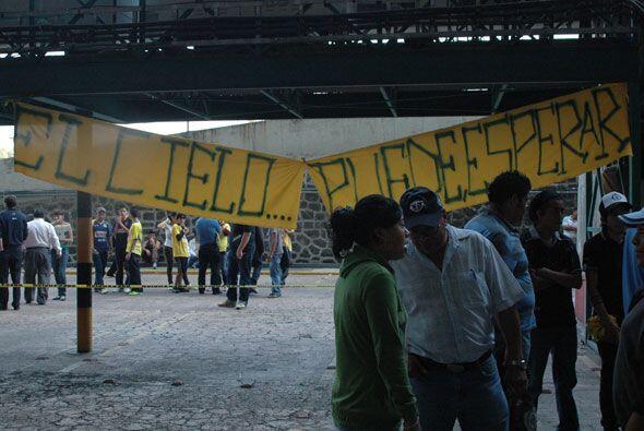 La afición pidió a las autoridades que se haga justicia en el ataque que...