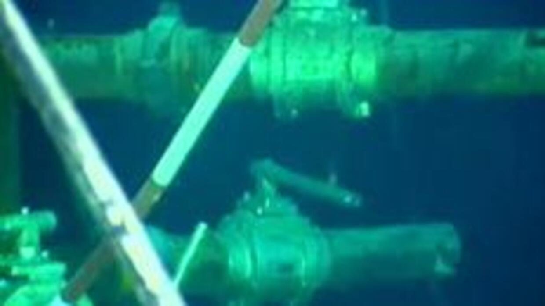 La petrolera British Petroleum aseguró haber logrado taponar el pozo que...
