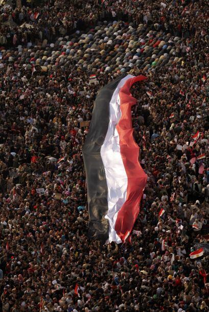 Pese a las medidas de apertura del régimen de Hosni Mubarak, la r...