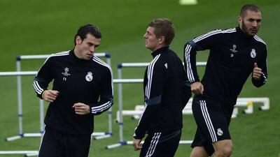 Gareth Bale, Toni Kroos y James destacan entre los que no jugarán ante e...