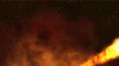 Las explosiones de rayos gamma, ocurren cuando una estrella se colapsa...